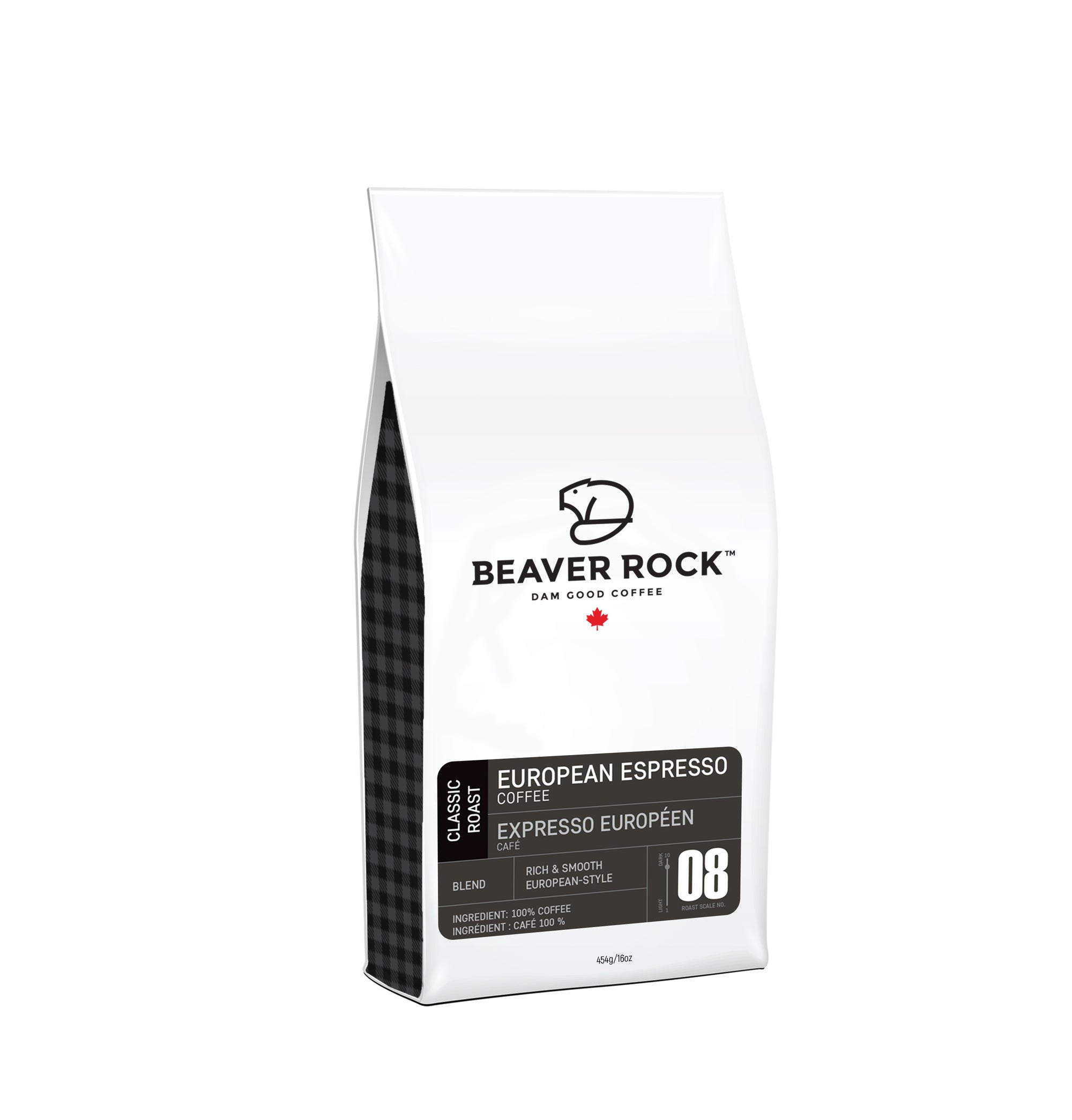 Food & Drink - Beaver Rock - Espresso Whole Bean Coffee, 454g