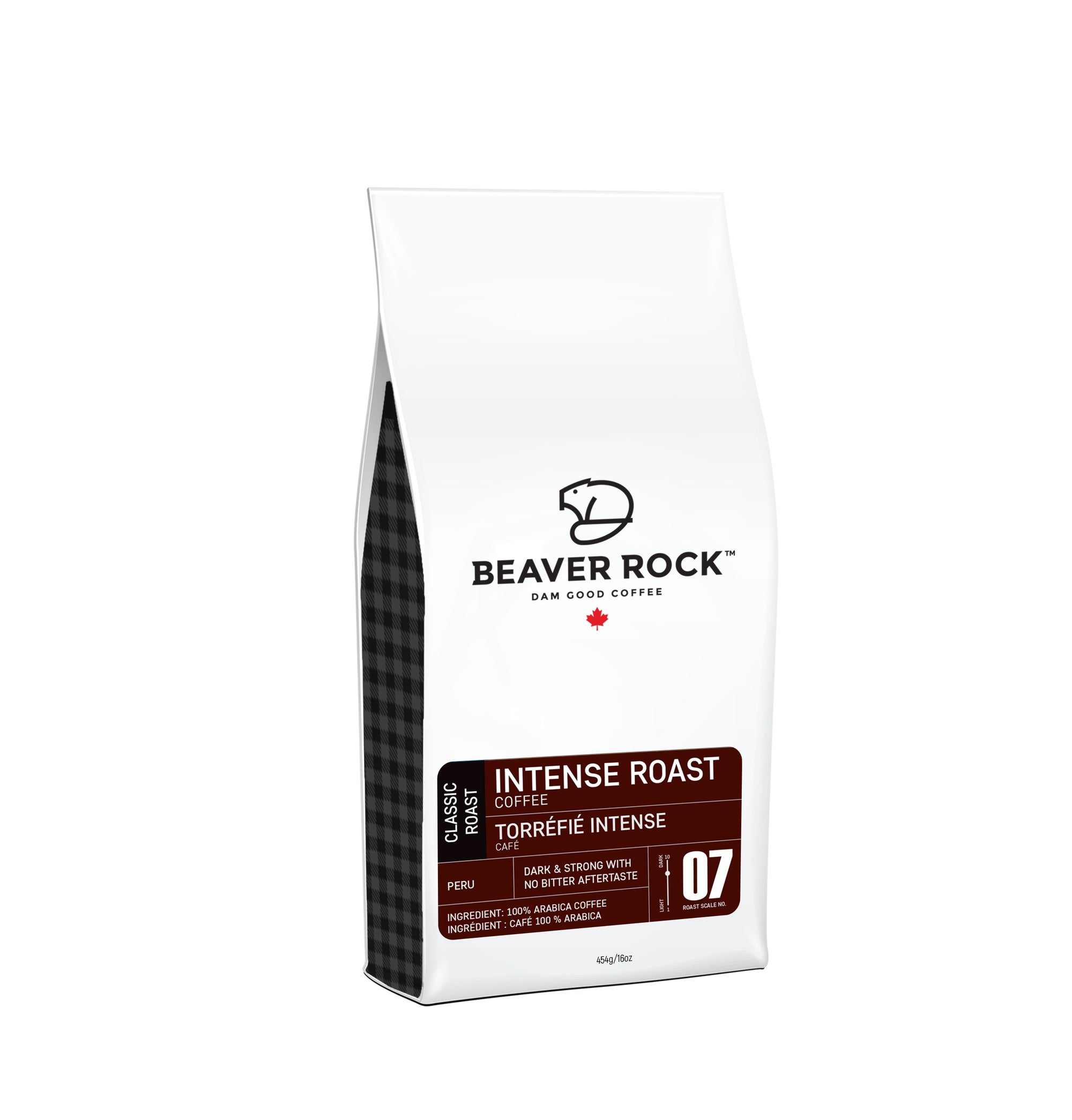 Food & Drink - Beaver Rock - Intense Roast Whole Bean Coffee, 454g