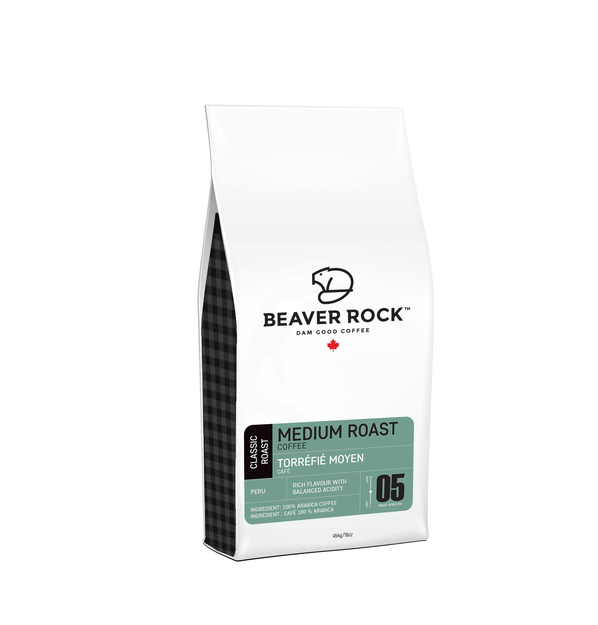 Food & Drink - Beaver Rock - Medium Roast Whole Bean Coffee, 454g