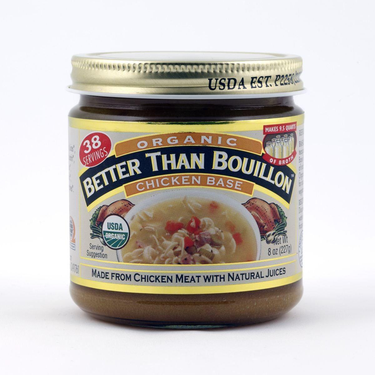 Food & Drink - Better Than Bouillon - Org Chicken Base - 227g