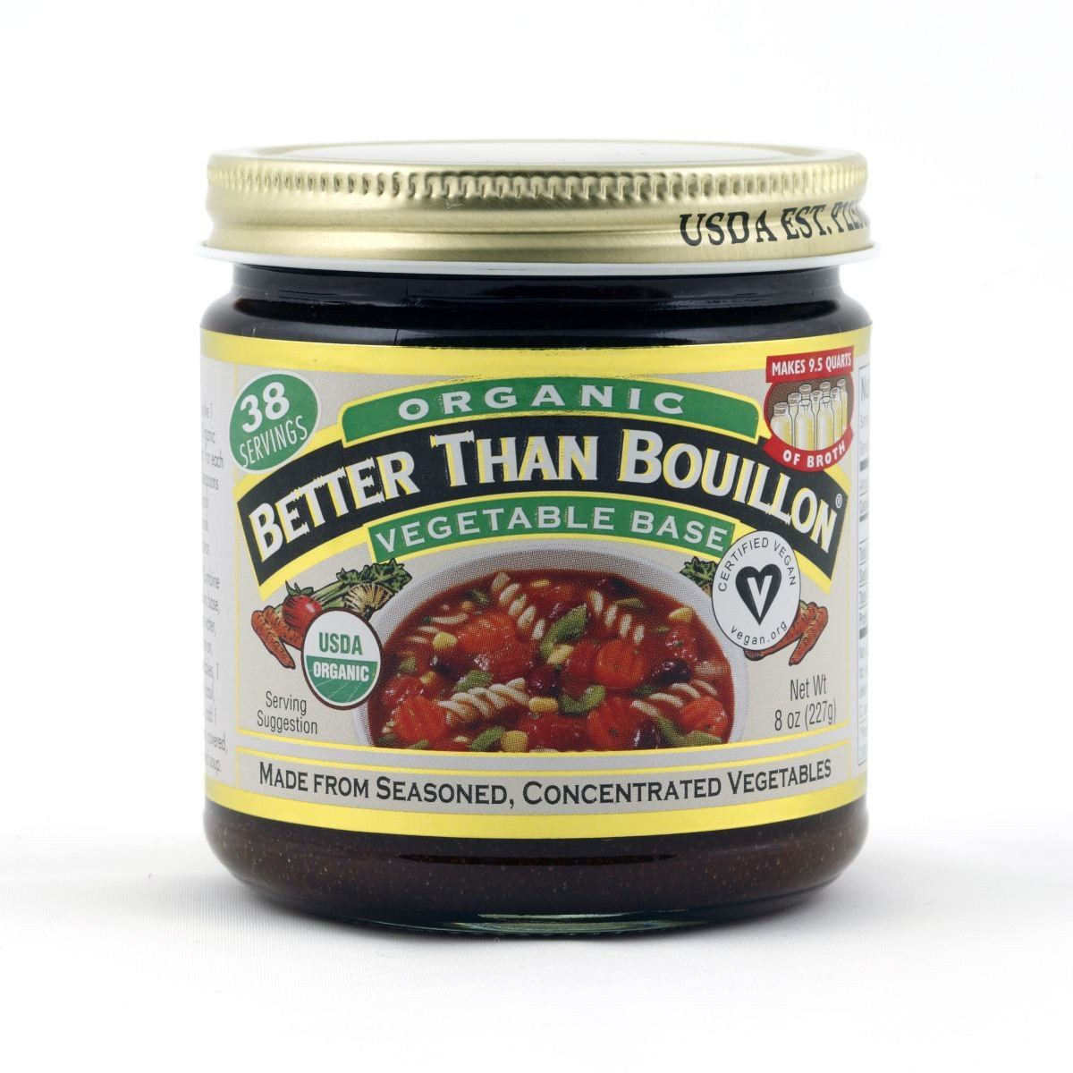 Food & Drink - Better Than Bouillon - Org Vegetable Base - 227g