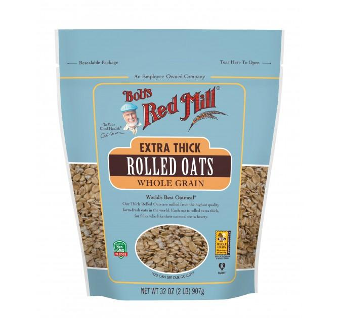 Food & Drink - Bob's Red Mill - Extra Thick Rolled Oats, 907g