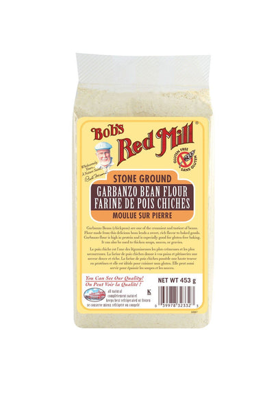 Food & Drink - Bob's Red Mill - Garbanzo Bean Flour, 453g