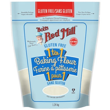 Food & Drink - Bob's Red Mill - Gluten Free 1-to-1 Baking Flour, 1.24kg
