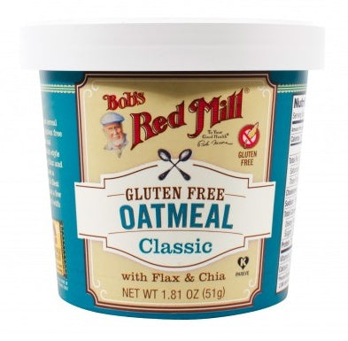 Food & Drink - Bob's Red Mill - Gluten-Free Classic Oatmeal Cup, 51g