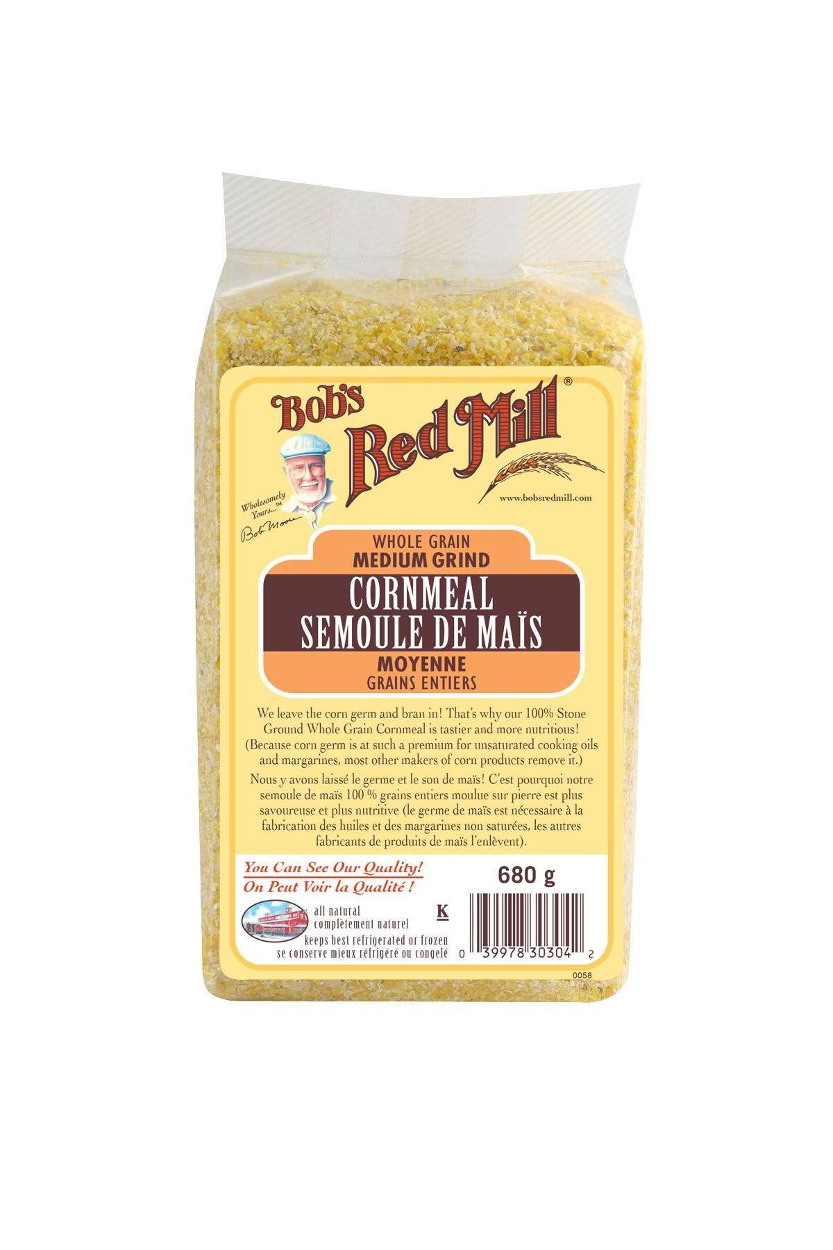 Food & Drink - Bob's Red Mill - Medium Cornmeal, 680g