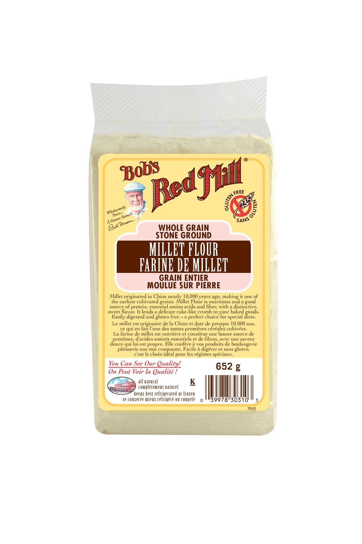Food & Drink - Bob's Red Mill - Millet Flour, 652g