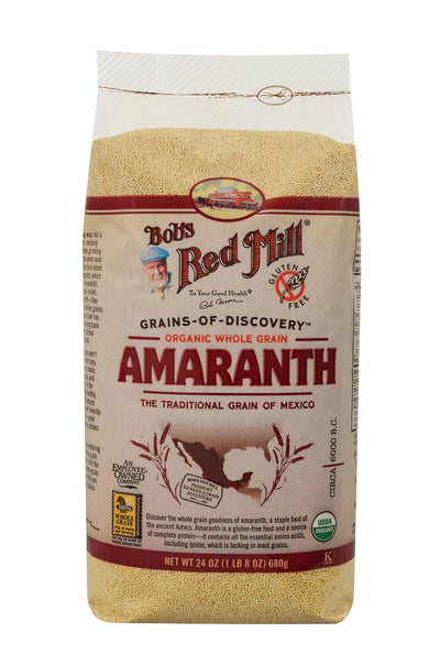Food & Drink - Bob's Red Mill - Organic Amaranth Grain, 680g