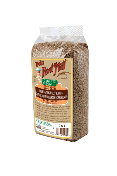 Food & Drink - Bob's Red Mill - Organic Hard Red Spring Wheat, 793g