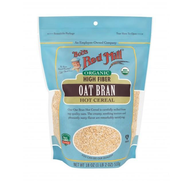 Food & Drink - Bob's Red Mill - Organic Oat Bran Cereal, 510g