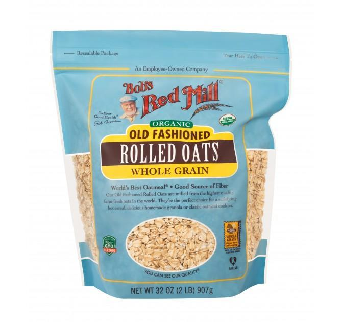 Food & Drink - Bob's Red Mill - Organic Old-Fashioned Rolled Oats, 907g