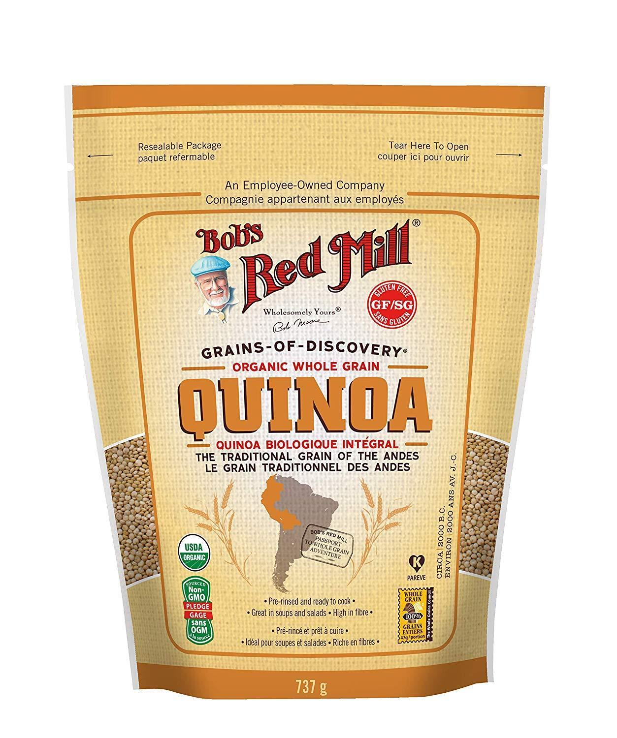Food & Drink - Bob's Red Mill - Organic Quinoa, 737g