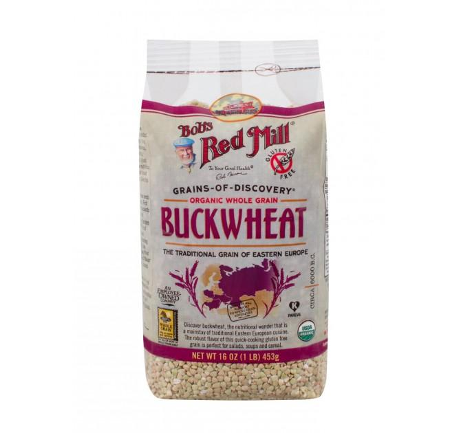 Food & Drink - Bob's Red Mill - Organic Raw Buckwheat Groats, 453G