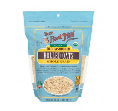 Food & Drink - Bob's Red Mill - Organic Regular Rolled Oats, 453g