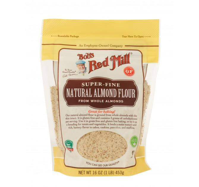 Food & Drink - Bob's Red Mill - Super-Fine Natural Almond Flour, 453g
