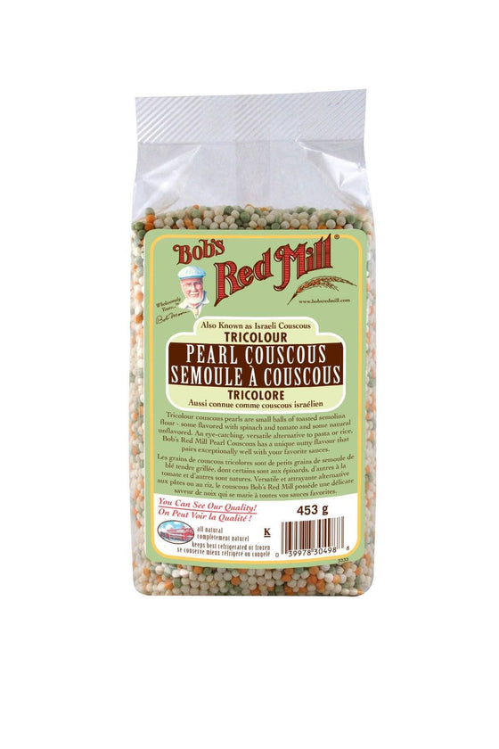 Bob S Red Mill Tri Color Pearl Couscous 443g Goodness Me