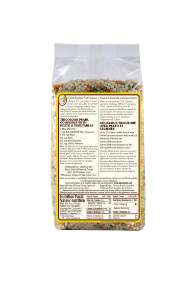 Food & Drink - Bob's Red Mill - Tri-Color Pearl Couscous, 443g