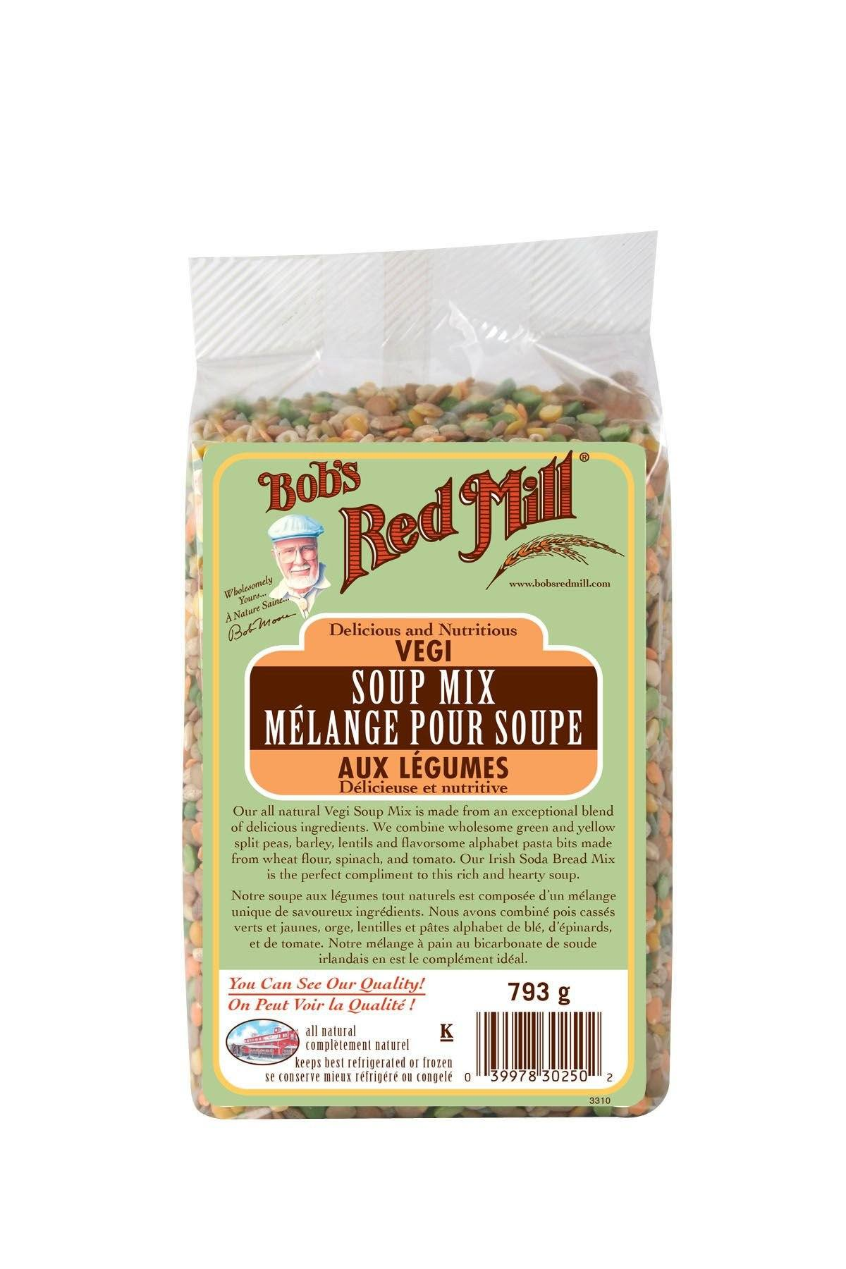 Food & Drink - Bob's Red Mill - Vegi Soup Mix, 793g
