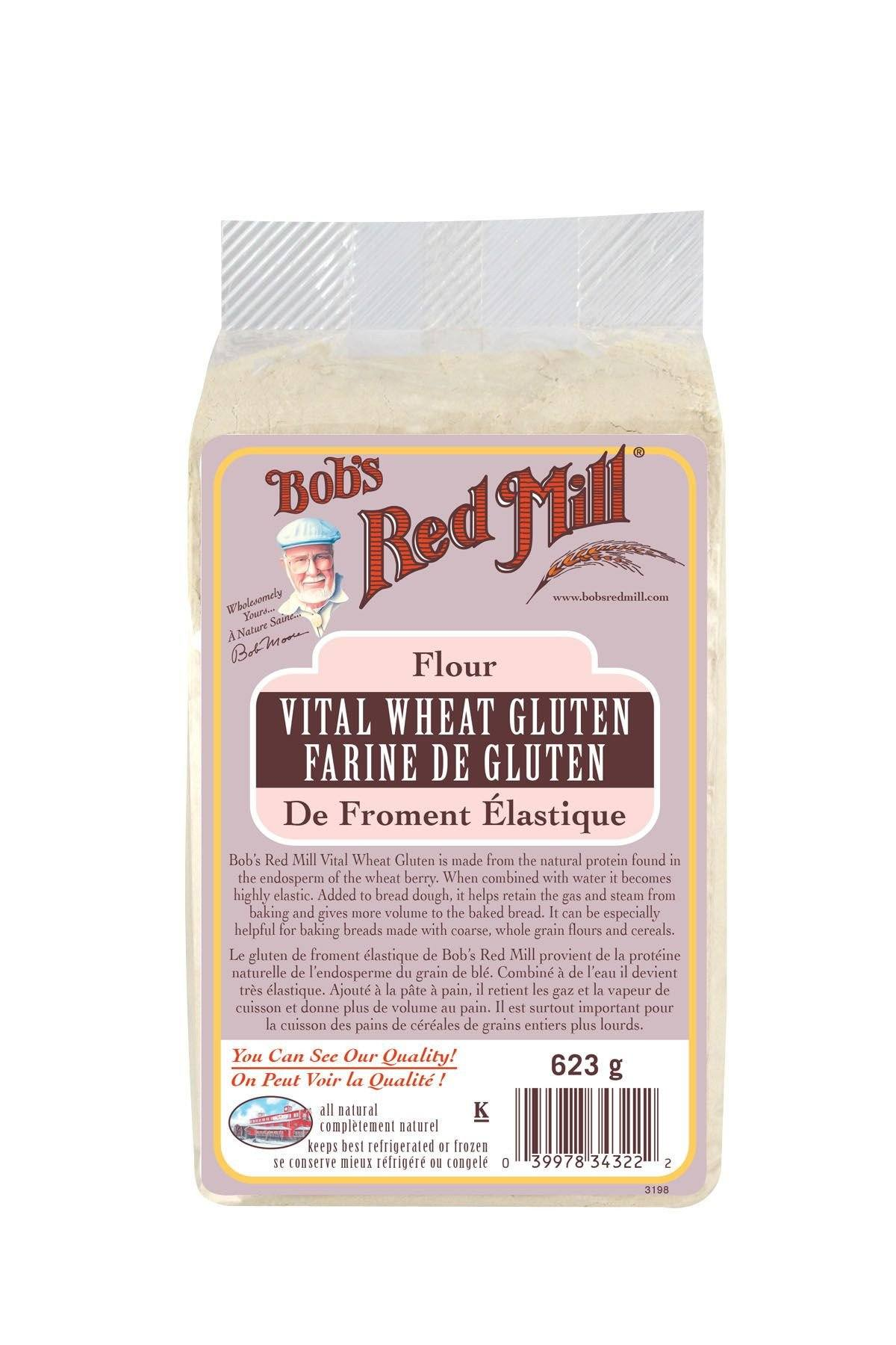 Food & Drink - Bob's Red Mill - Vital Wheat Gluten, 623g