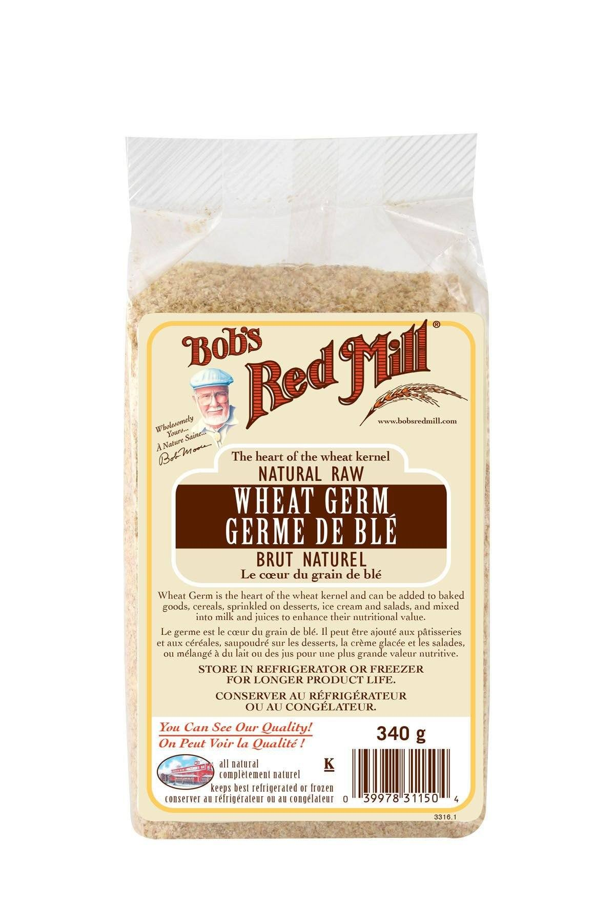 Food & Drink - Bob's Red Mill - Wheat Germ, 340g