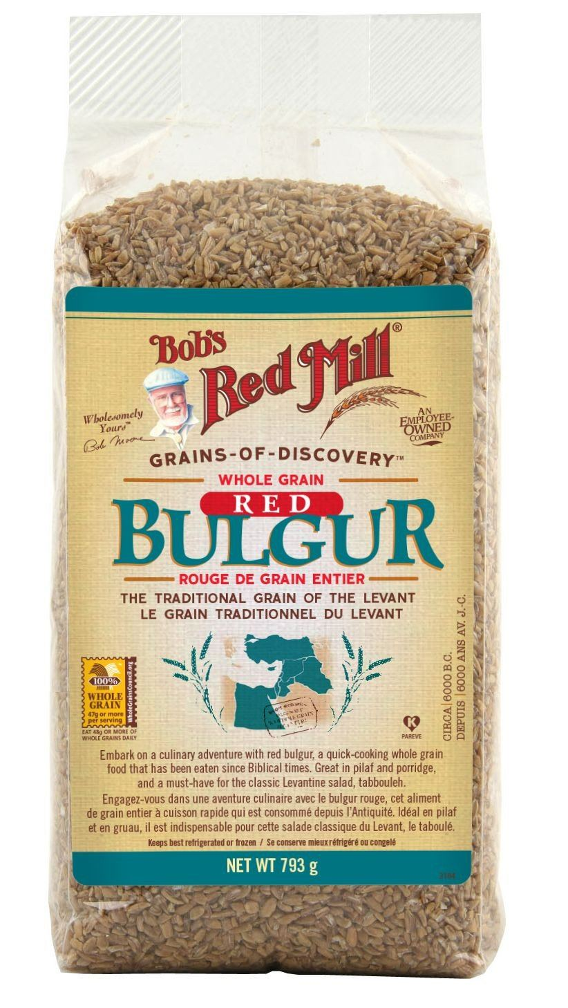 Food & Drink - Bob's Red Mill - Whole Grain Red Bulgur, 793g
