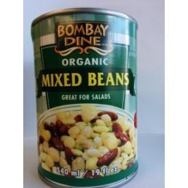 Food & Drink - Bombay Dine - Organic Mixed Beans, 540ml