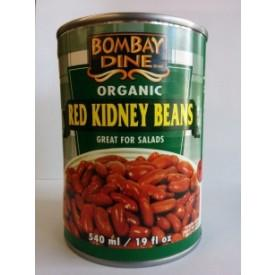 Food & Drink - Bombay Dine - Organic Red Kidney Beans, 540ml