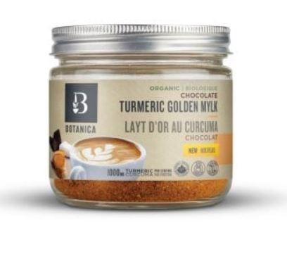 Food & Drink - Botanica - Chocolate Turmeric Golden Mylk, 150g