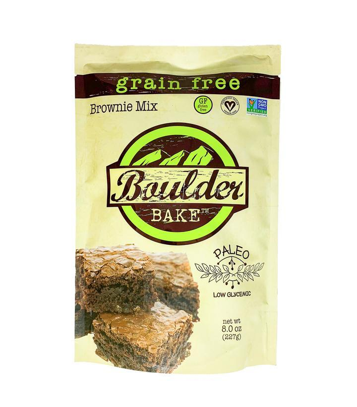 Food & Drink - Boulder Cookies - Paleo Brownie / Cake Mix, 259g