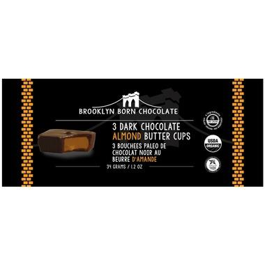Food & Drink - Brooklyn Born - Almond Butter Cups - Dark Chocolate, 34g