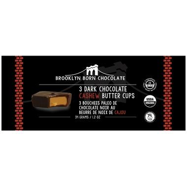 Food & Drink - Brooklyn Born - Cashew Butter Cups - Dark Chocolate, 34g