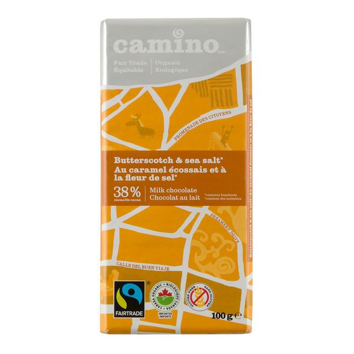 Food & Drink - Camino - Butterscotch & Sea Salt Chocolate, 100g