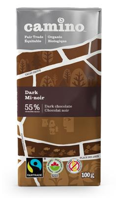Food & Drink - Camino - Dark Chocolate Bar, 100g