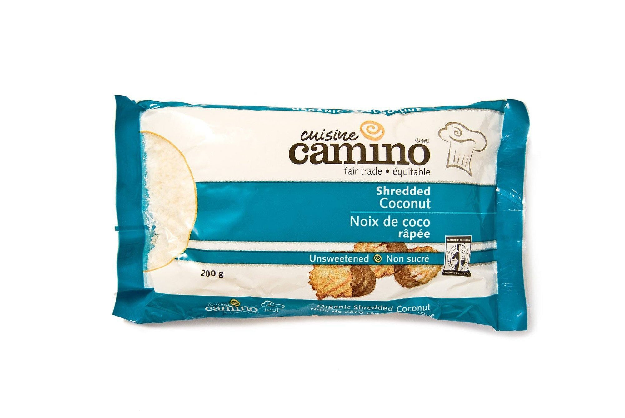 Food & Drink - Camino - Unsweetened Shredded Coconut, 200g