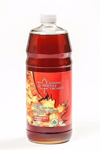 Food & Drink - Canadian Heritage Organics - Organic Maple Syrup #1, 1L