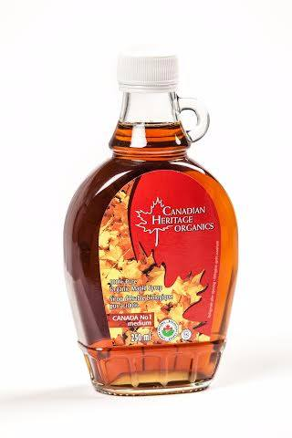 Food & Drink - Canadian Heritage Organics - Organic Maple Syrup #1, 250ml