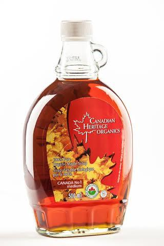 Food & Drink - Canadian Heritage Organics - Organic Maple Syrup #1, 500ml