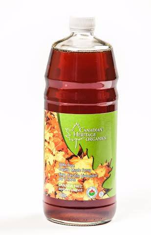 Food & Drink - Canadian Heritage Organics - Organic Maple Syrup #2, 1L