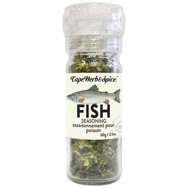 Food & Drink - Cape Herb & Spice Company - Fish Seasoning Grinder -  Lemon/dill, 56G