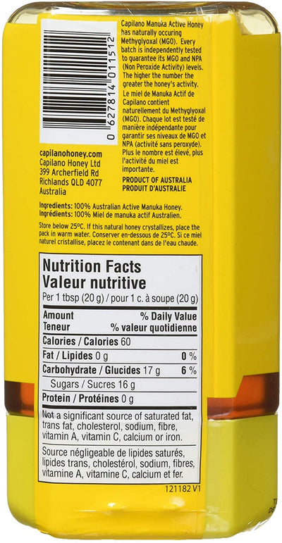 Food & Drink - Capilano - Manuka Honey, MGO30+, 375g