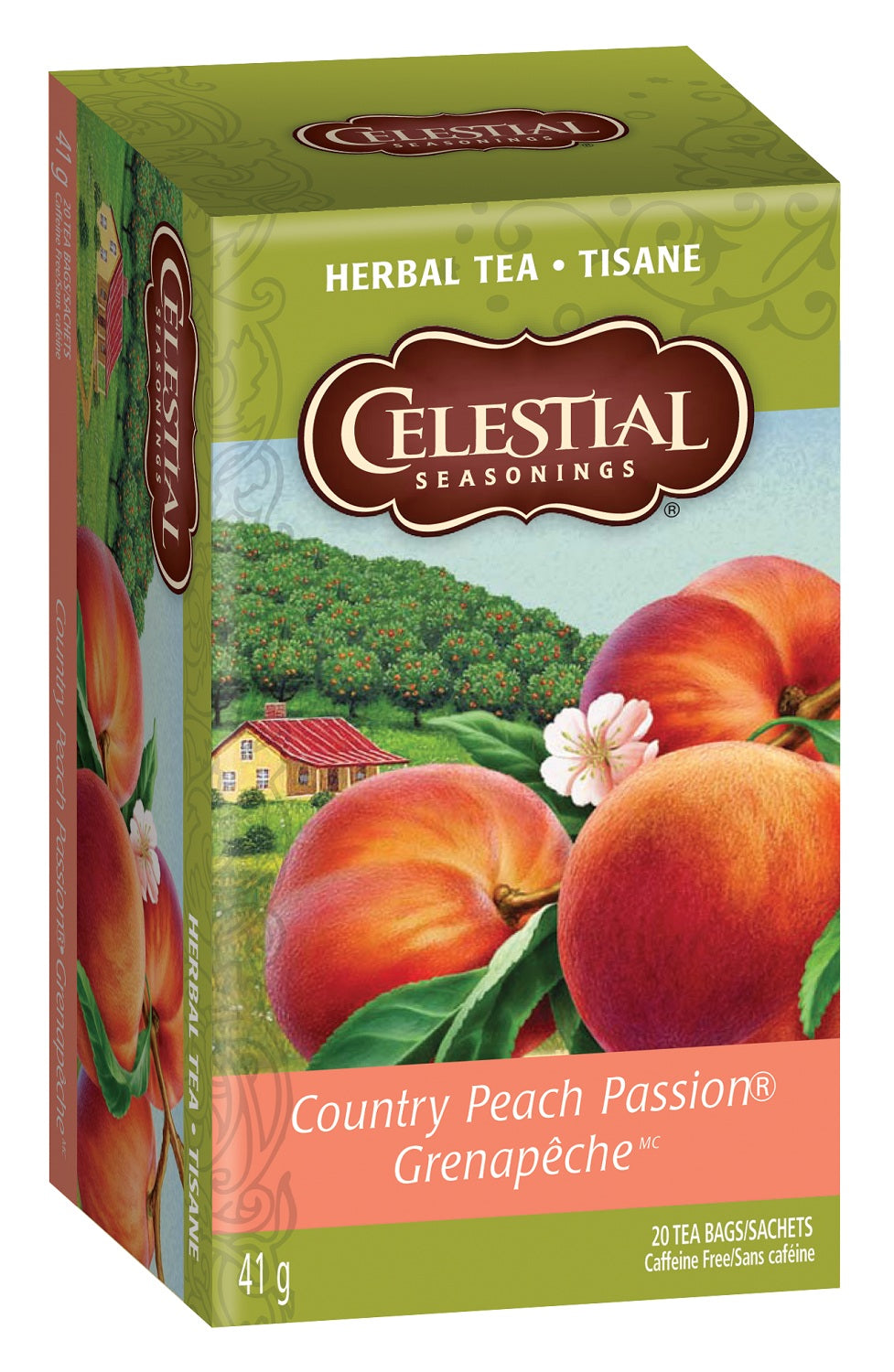 Food & Drink - Celestial Seasonings - Country Peach Passion™ Herbal Tea, 20bags