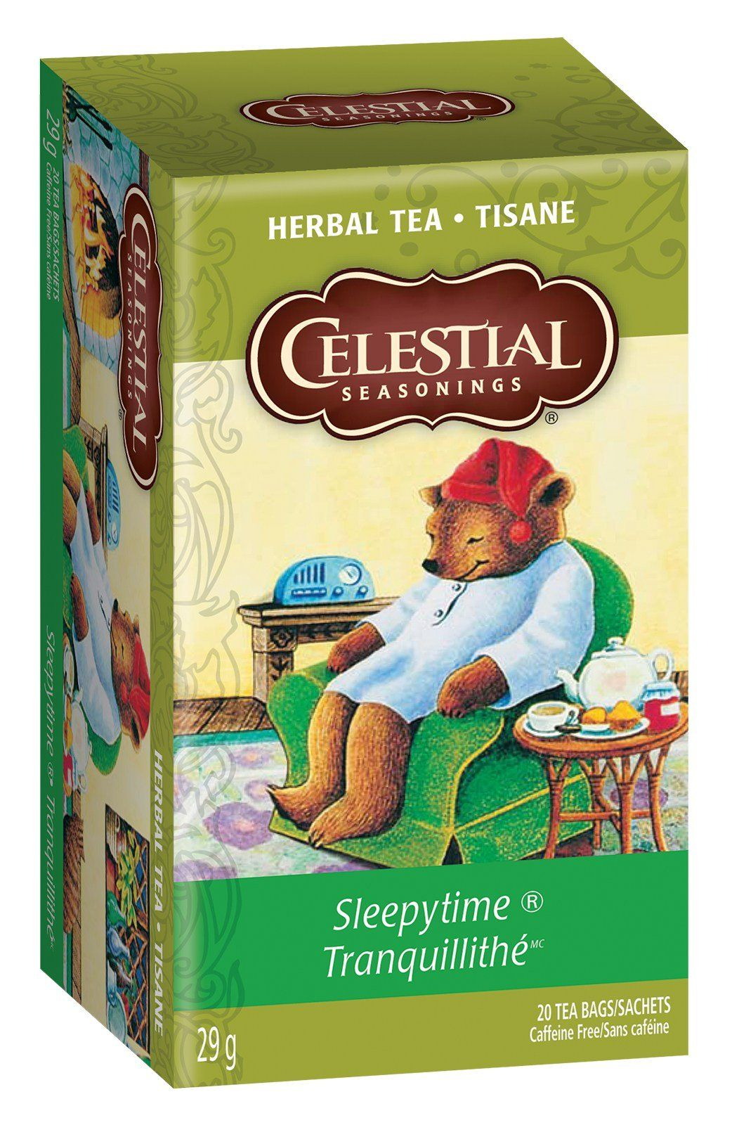 Food & Drink - Celestial Seasonings - Sleepytime Tea, 20 Bags