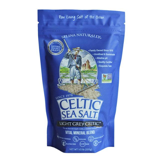 Food & Drink - Celtic Sea Salt - Light Grey Celtic Sea Salt, 227g