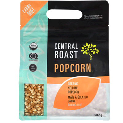 Food & Drink - Central Roast - Org Yellow Popcorn - 907g