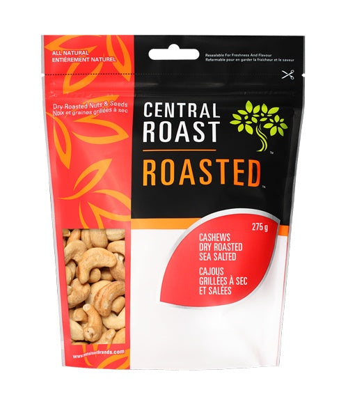 Food & Drink - Central Roast - Roasted Cashews Salted, 300G