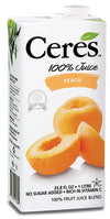 Food & Drink - Ceres Fruit Juices Ltd. - Peach Fruit Juice, 1L