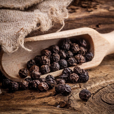 Food & Drink - Cha's Organics - Black Peppercorns, Whole 120g