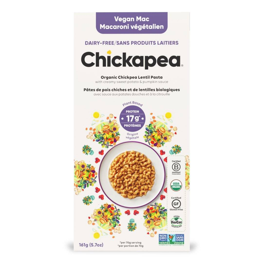 Food & Drink - Chickapea Pasta - Vegan Mac `N Cheese, 170g