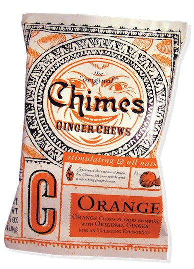 Food & Drink - Chimes - Orange Ginger Chews - 141.8g