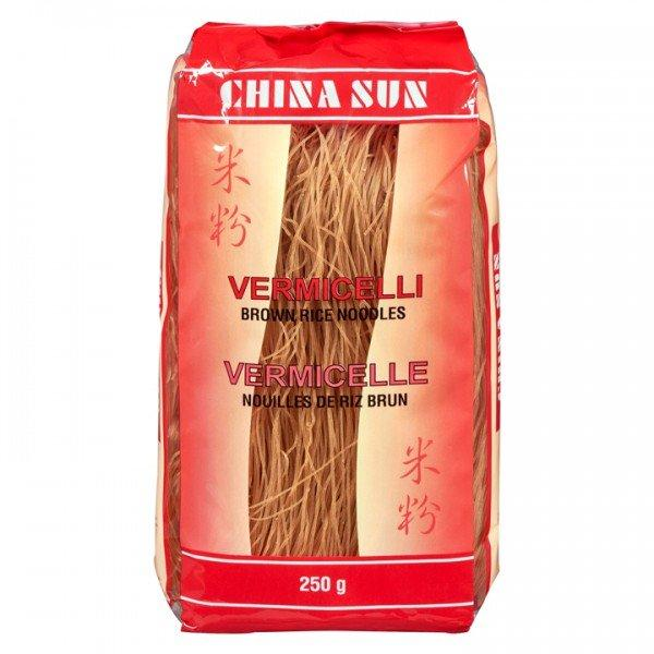 Food & Drink - China Sun - Brown Rice Noodles Gluten Free, 250G